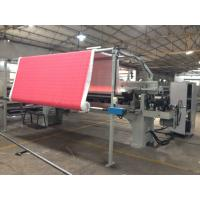 Buy cheap Industrial Fabric Cotton Automatic Rolling Machine device 200 W 15 M/Min Roll Speed from wholesalers