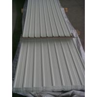 Buy cheap Prepainted Corrugated Steel Roofing Sheets 900mm for Protection Wall Fence from wholesalers