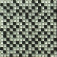 Buy cheap 300x300mm Matte Natural Stone Glass Mosaic Tile For Interior Wall from wholesalers