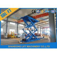 Buy cheap 5T 5M Hydraulic Scissor Car Lift Scissor Car Lift for Home Garage with CE from wholesalers