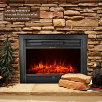 Buy cheap 28 insert electric fireplace heater log LED flame effect EF-30D best choice fireplace products from wholesalers