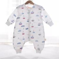 Buy cheap 4 Layers Comfortable Infant Muslin Sleeping Bag Embroidered Logo Customized Color from wholesalers