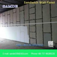 Buy cheap Light weight precast concrete wall panels machine eps board for prefabricated wall panel from wholesalers