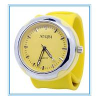 Buy cheap fancy alloy watch case silicon strap cheap slap silicon men watch from wholesalers