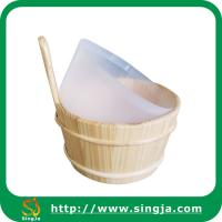 Buy cheap Wooden sauna tub&scoop from wholesalers