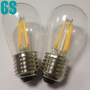 S14 Type Filament LED Bulb 2W 4W E26 E27 B22 High Brightness CE Approval Manufactures