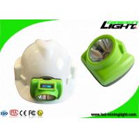 Buy cheap 13000lux 6.8Ah Rechargeable LED Headlamp OLED Screen IP68 with Just 200g from wholesalers