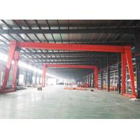 Buy cheap Travelling Electric 10 Ton Gantry Crane Small Mobile Hoist Single Girder from wholesalers