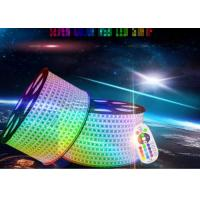 Buy cheap Ip67 Led Rgb Strip Lights , 80ra High Voltage Led Strip Extremely Luminous from wholesalers