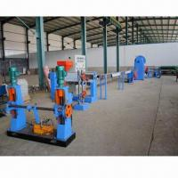 Buy cheap PVC coating line/cable wire making machine with water cooling system/automatic up and down system from wholesalers