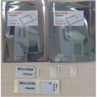 Buy cheap Micro sim adapter from wholesalers