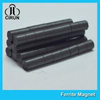 Buy cheap Hard Cylinder Ferrite Magnet For Rotors / Fridge SGS RoHS Certification from wholesalers