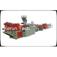 China Conduit PVC Pipe Extrusion Machine Threading Plastic Extrusion Equipment on sale