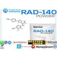 Wholesale Rad-140 Testolone Sarm white raw Powder Bodybuilding Hormone Sarms Pills Rad140 for loss weight from china suppliers