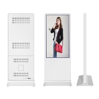 Buy cheap internet lcd shopping mall 65inch advertising player display kiosks digital signage from wholesalers