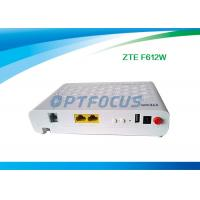 Buy cheap Interface GPON EPON ONU FTTH Mode F612W 12 V DC -5dBm Wifi 10 / 100 / 1000 Base-T from wholesalers