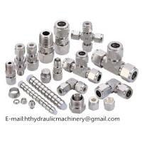 Buy cheap China factory direct sale CNC machinery part carbon steel hydraulic fittings from wholesalers