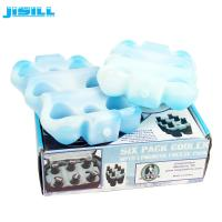 Buy cheap Custom Reusable 6 Pack Beer Bottle Cooler Holder For Drink Cooling from wholesalers