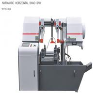Buy cheap Energy Saving Automatic Bandsaw Machine With Hydraulic Feed Saw Frame from wholesalers