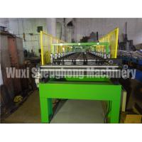 Buy cheap Hydraulic Powered Uncoiler Metal Roofing Forming Machine , Roof Sheet Making Machine from wholesalers