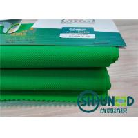 Buy cheap Green PP Spunbond Non Woven Fabric For Antimicrobial Medical , Home Textile from wholesalers
