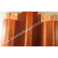 Buy cheap B111 C12200 OD 1'' Tube Carbon Steel / Copper Extruded Finned Tubes from wholesalers