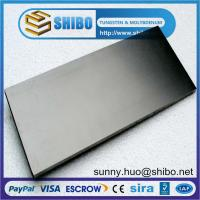 Buy cheap high purity tungsten sheet, tungsten plate, W sheet from wholesalers
