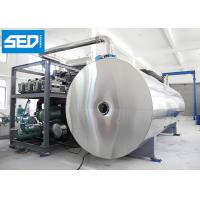 Buy cheap Large Capacity Industrial Freeze Dry Machine Horizontal Cylinder Type CE Approved from wholesalers