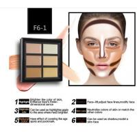 Buy cheap OEM Hot Sale Makeup Contour Palette Face Cream 6 Color Correcting Concealer from wholesalers