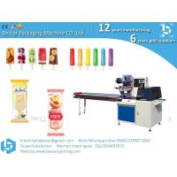 Buy cheap Automatic Flow Wrapping Machine For Ice Candy Popsicle Ice Cream Stick Packing Machinery from wholesalers