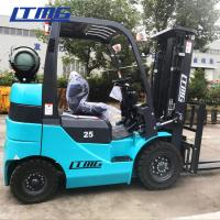 Buy cheap 4.5 M Triplex Mast Gasoline Forklift Truck Material Loading Equipment 2.5 Ton from wholesalers