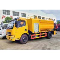 Buy cheap Combined Jetting & Vacuum Sewage Suction Truck For Sewer Cleaning High Pressure from wholesalers