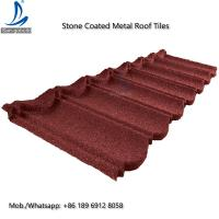 Buy cheap German Lightweight Stone Chips Coated Type Steel Roofing / Metal Galvanized Steel Shingle Roof Tiles from wholesalers