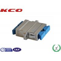 Buy cheap Duplex SC Fiber Optic Adapters 55dB Return Loss Contains Interconnect Sleeve from wholesalers