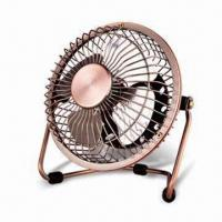 Buy cheap 6-inch Metal USB Mini Fan with Low Noise and One Speed Control from wholesalers