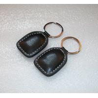 China ID64 Leather RFID Key Fob Pre - Programmed Token Compatible For Access Control on sale