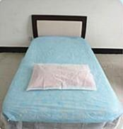 comfortable&breathable nonwoven bed sheet Manufactures