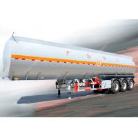 Wholesale 3 Axles 45000 liters 5 compartments diesel fuel tank trailer for oil transportation from china suppliers