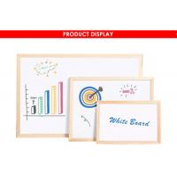 Buy cheap Wood Framed Magnetic Dry Erase Board With Marker Pen Fashionable Style from wholesalers