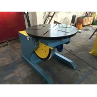 Buy cheap Motorized Tilting Rotary Welding Positioner Turntable For 2 Ton Rated Load Cap from wholesalers