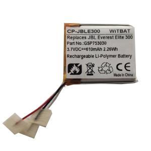 Wholesale GSP753030 for JBL Everest Elite 300 E45BT E55BT DUET BT headset battery from china suppliers