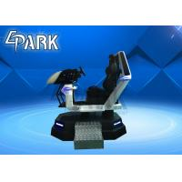 Buy cheap White 9D VR Simulator / Virtual Reality Car Racing Machine For Adult Game Center Multi Players Platform from wholesalers