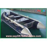 Buy cheap Rigid Hull Fiberglass Small Inflatable Boats With Heavy Duty Aluminum Floor from wholesalers