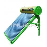 300L galvanized steel no pressure vacuum tube solar water heater Manufactures