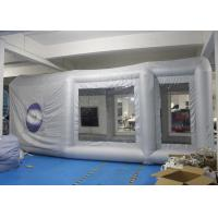 Wholesale Durable Inflatable Spray Booth Reinforced Oxford Cloth Material CE / UL from china suppliers