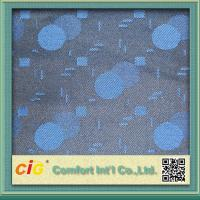 Flame Retardant Fashion Shuttle Fabric , Auto Upholstery Material 100 Polyester Manufactures