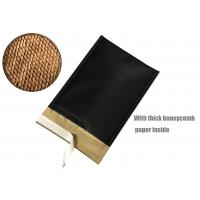 Buy cheap Honeycomb Paper Padded Mailers Black Self Seal Padded Mailing Envelopes from wholesalers