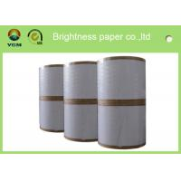 Wholesale Durable Coated Duplex Board Grey Back , 360um Printing Coated Art Paper from china suppliers