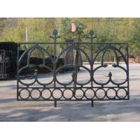 Buy cheap Portland Cast Iron Fence Panels Powder Coated Steel Prefab Metal Fence Panels from wholesalers