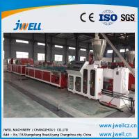 Buy cheap Jwell  PE PP WPC  profile extrusion line for wood tray, indoors and outdoors floor from wholesalers
